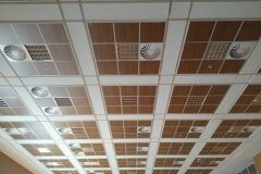 ahsap akustik tavan